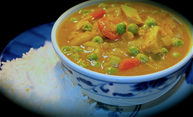 Korean Curry Rice ~ Save time and $$ using left overs to make new meals!