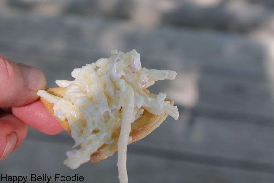 Jarlsberg Cheese Dip with Homemade Salty Crackers
