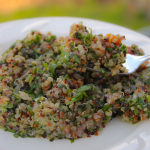 Tabbouleh Salad ~ Featuring fresh ramps