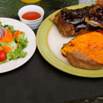 Baby Back Ribs ~ Keeping it smart for your heart, A Father's day special