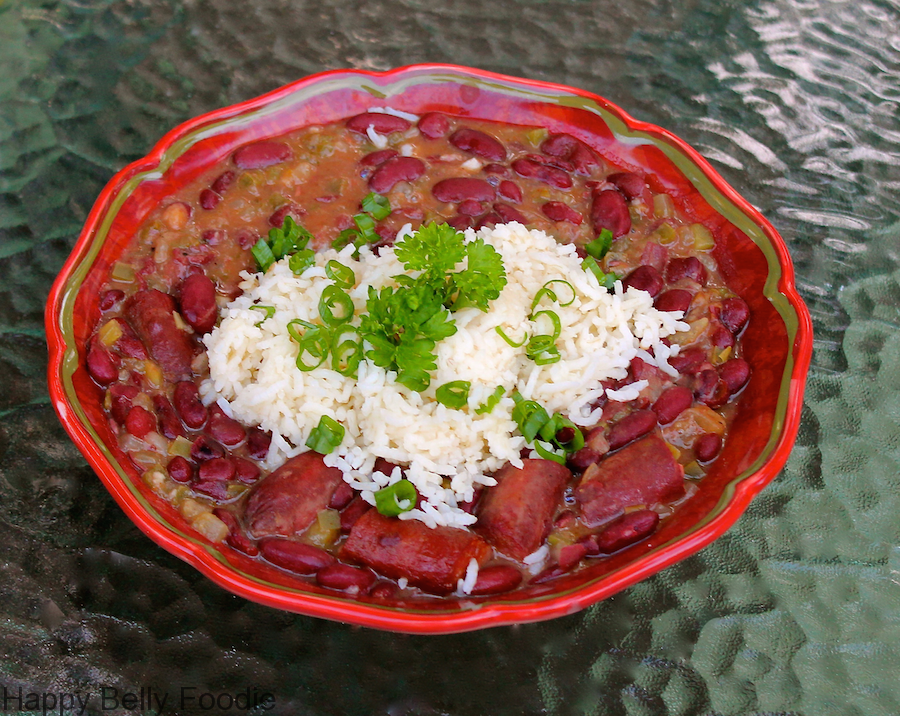 Red Beans and Rice Final dish