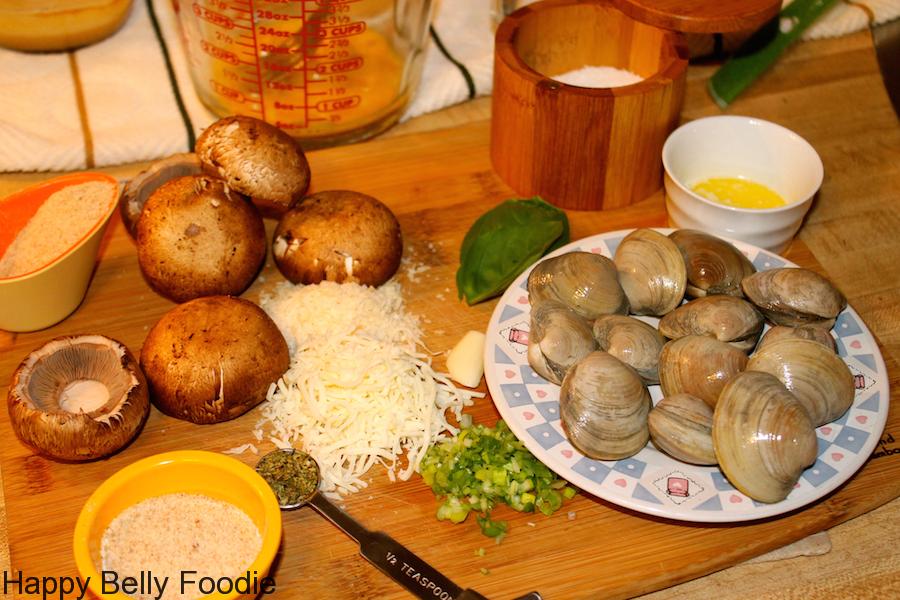 clam stuffed shrooms