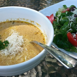 Wild Mushroom Marsala Soup and fresh Herb Vinaigrette ~ plus a few culinary herb profiles