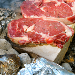 How to Cook Steak on a Rock ~ Campfire Cookin'