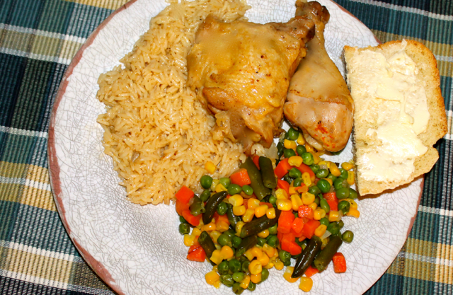 Edited chicken and rice