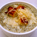Pressure Cooker Creamy Broccoli Soup