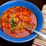 Homemade Vegetable Soup Pressure Cooker Fast!