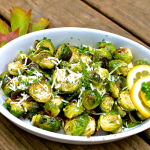 Brown Buttered Roasted Brussel Sprouts ~ It's so easy!