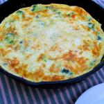 Broccoli and Cheese Frittata