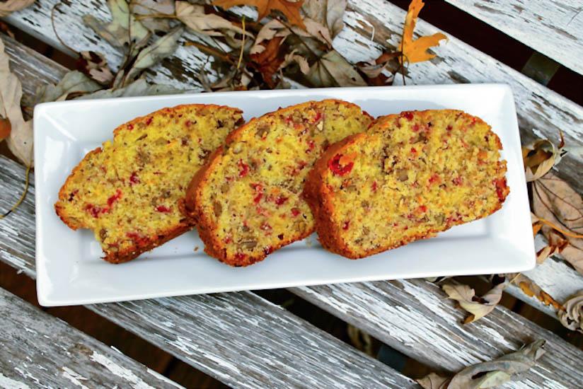 Gluten Free Cranberry Orange Bread