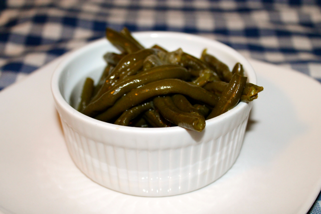 Pressure Cooker Country Style Green Beans