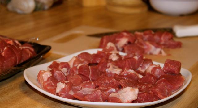Pork Cubed for Sausage