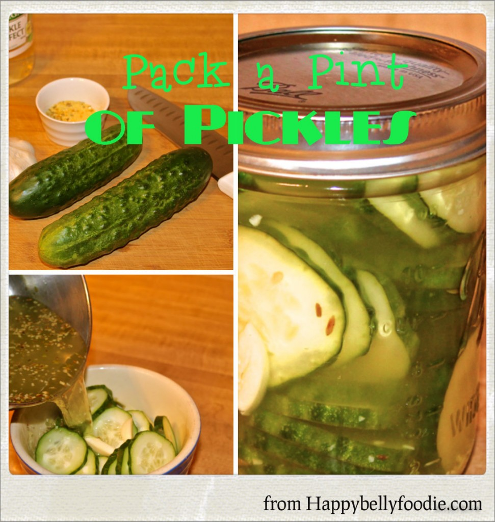 Pack a Pint of Pickles ~ Refrigerator Pickles