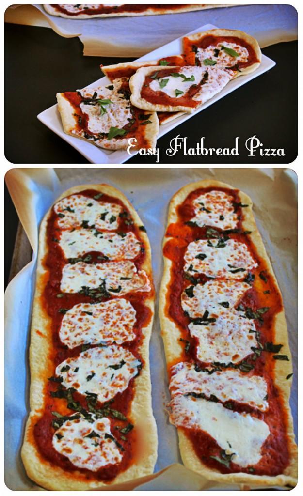 Delicious Flatbread Pizza Quick and Easy!