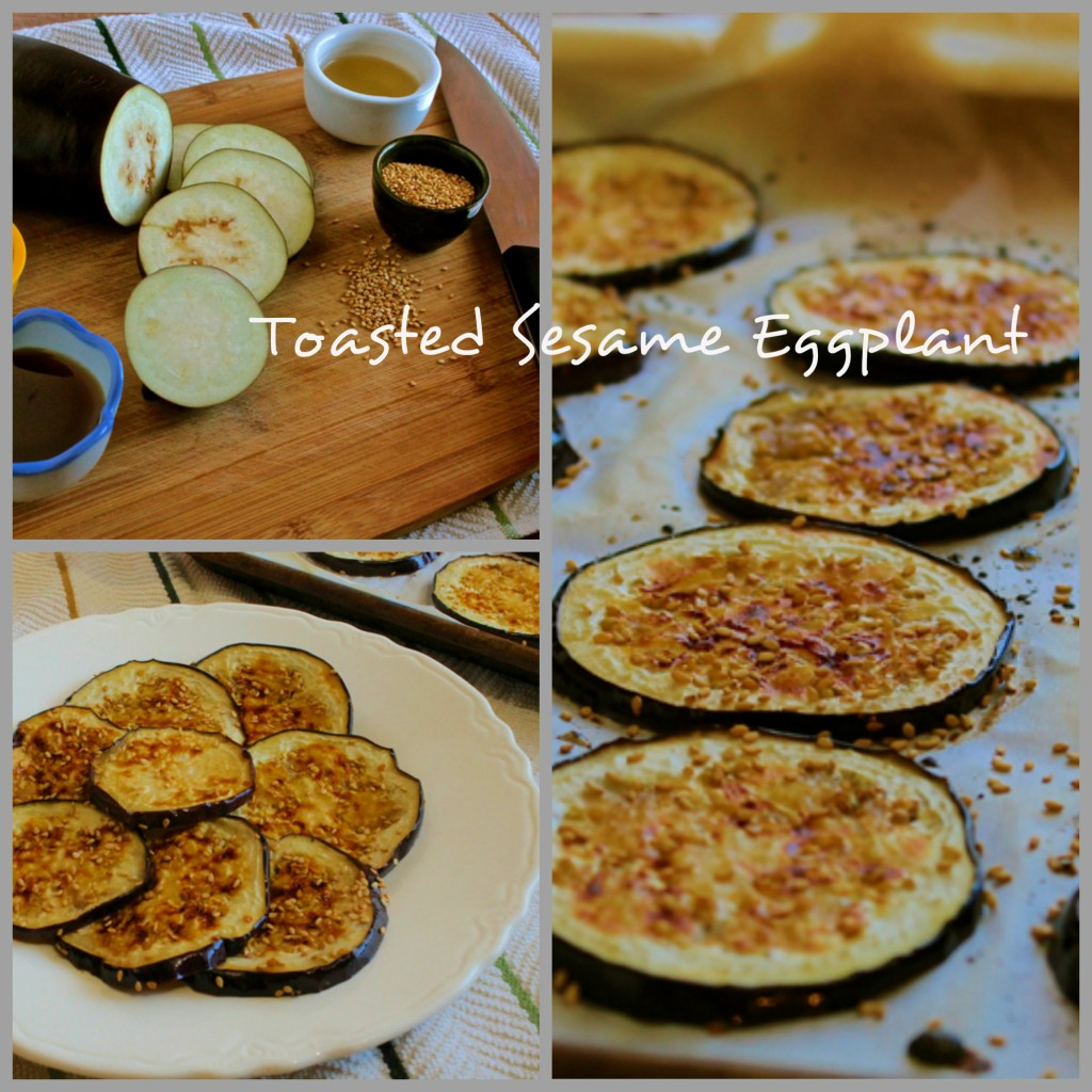 Perk up those veggies! Toasted Sesame Eggplant is a delicious side dish for your meal.