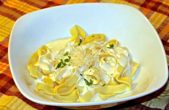 How to make Fresh Pasta with THE Best Alfredo Sauce