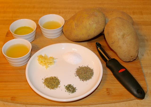 Potatoes and Seasoning