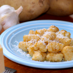 Homemade Gnocchi with Brown Butter Garlic Sauce