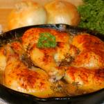 Braised Chicken Quarters