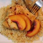 Instant Pot Spicy Peach Chicken