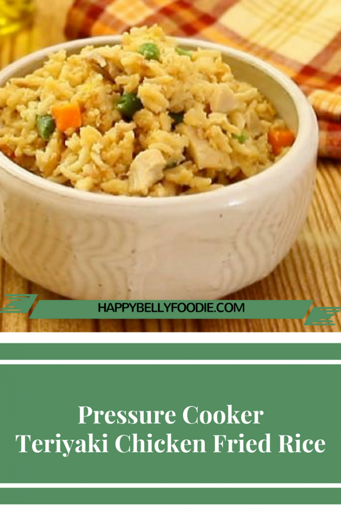 Instant Pot Teriyaki Chicken Fried Rice is a fantastically delicious meal you can make quick in your pressure cooker. It's our fav!