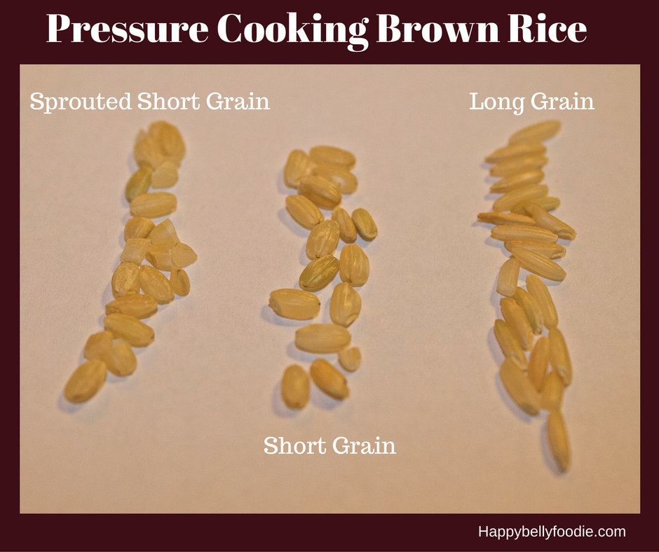 How to pressure cook different types of rice part ii brown rice how to pressure cook different types of rice part ii brown rice happy belly foodie ccuart Gallery
